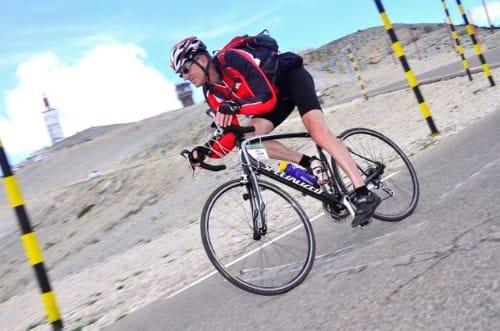 De webmaster van De Kale Berg daalt de kale berg af op 13 juni 2014.