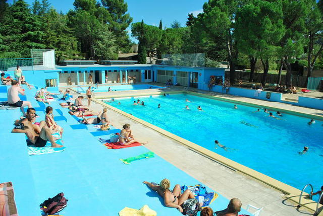 Piscine municipale in Vaison la Romaine