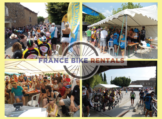 'The Best Ever Tour de France Ventoux Party in Bedoin'