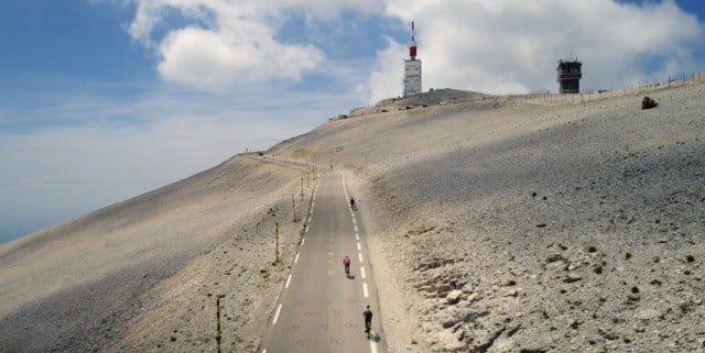 De Kale Berg - Mont Ventoux - Online gids voor Ventoux-fietsers - Foto: HiRoads