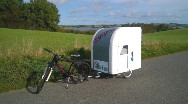 Lightweight Bicycle Micro Camper
